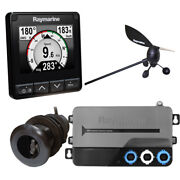 Raymarine I70s System Pack W/color Instrument Andamp Wind Dst Transducers Itc-5