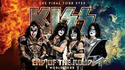 Kiss Rock Band World Tour Flag Huge 3x5 Ft Tapestry Fabric Poster Banner