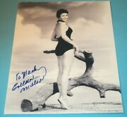Colleen Miller / 8 X 10 Bandw Autographed Photo