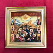 Villeroy And Boch Porcelain Russian 19th Century Icon Seven Sleepers