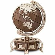 Eco Wood Art The Globe 393-piece 3d Puzzle, Color The-globe- Brown