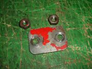 Vintage Lombard Chainsaw Nuts And Bar Spacer 1940s - 1950s