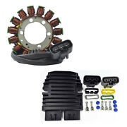 Stator + Mosfet Voltage Regulator For Yamaha Yzf 1000 R1 2012 2013 2014 Yzf1000