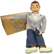 1960s Knucklehead Ventriloquist Doll By Juro Jerry Mahoney's Pal Rare