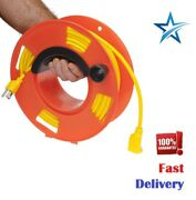 Electrical Extension Cord Storage Reel - Durable, Heavy Duty, Easy Handle, New