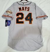 San Francisco Giants Willie Mays Authentic 52 2xl Holo Signed Hof 79 Jersey