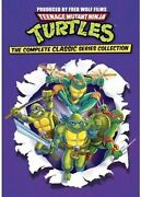 Teenage Mutant Ninja Turtles Complete Classic Series Collection Dvd New
