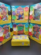 Kitchen Creations Play-doh Scoops N Sundaes And Abc And Animals And Shape Set All New