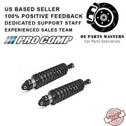 Procomp Tundra Black Series 2.75 Coilover Zx4078 Fits Shock Absorbers Set Of 2