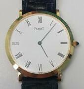 Piaget Yellow Gold 750 Oro 18 Kt Hand Wound Cal. 9p2 Ref. 902 Altiplano