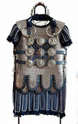 Medieval Ancient Armour Greek Roman Scale Armour With Phlerea Belt And Subermail