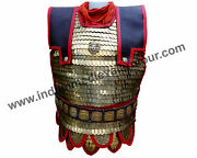 Medieval Byzentine Brass Scale Armour With Belt / Roman Lorica Squamata D