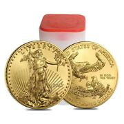 2021 1 Oz American Gold Eagle   Type 1   50 Us Gold Coin Bu