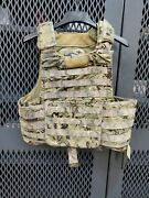 Aor2 Camouflage Sds Bae Rbav Plate Carrier Size Medium-large Navy Seal Swcc 3