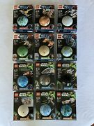Lego Star Wars Planet Series 1-4 Complete Collection Retired Rare Nib