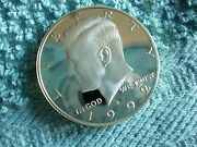 1992 S Silver Kennedy Half Dollar With The Ddo Very Rare Low Mintage Year