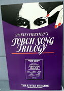 Harvey Fiersteinand039s Broadway Torch Song Trilogy Window Card The Little Theatre