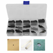 Double Cap Rivets Die Mold Metal Stud Hole Setter Eyelets Snap Tool Kit Craft