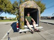 Air Tight Waterproof Inflatable Camping Truck Bed Tent W/ Pump