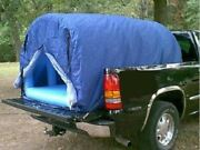 Air Tight Waterproof Inflatable Camping Truck Bed Tent W/ Mattress Floor New