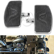 Motorcycle Front Rider Floorboards Footpeg For Honda Vt750c Vt750dc Deluxe 97-03