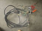 Suzuki Outboard 20ft Round Black Plug Style Rigging Harness With Ignition Switch