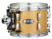 Pearl Masters Maple Complete 18x14 Bass Drum W/o Bb3 Bracket Bombay Gold Spark