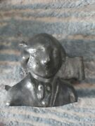 Vintage George Washington Pewter Butter Chocolate Mold E And Co. 1084 N.y.