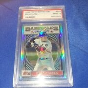 1993 Topps Finest Refractor Rookie 199 Mike Piazza Psa 9 Only 241 Ever Printed