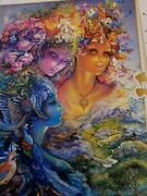 New Josephine Wall The Three Graces 1000 Pieces Jigsaw Puzzle Glitter Edition...