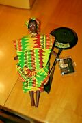 1996 Ghanian Barbie Collectible Dolls Of The World Collection-no Box