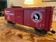 Usa Trains Great Northern G Scale Metal Wheels 40 Foot Boxcar Ultimate Series