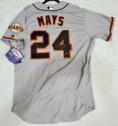 San Francisco Giants Willie Mays Authentic 48 Xl Holo Signed Hof 79 Jersey