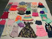 Girls Clothes/outfits/sleepwear Lot Of 44+ Size 18 Month-2t