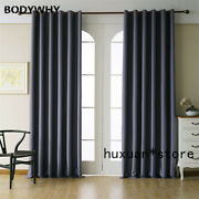 Modern Blackout Living Room Curtains Bedroom Finished Kitchen Curtain Drapes Hot