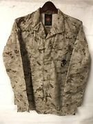 Usmc Issued Mccuu Desert Marpat Camouflage Blouse Cammies Small Long Sl