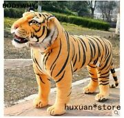 Simulation Animal Huge Tiger Doll About 110x 70cm Plush Toy High Quality Gift
