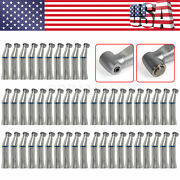 100dental Inner Water Spray Push Button Contra Angle Low Speed Handpiece Hnz