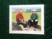 Arnold Palmer Jack Nicklaus The King And The Golden Bear L/e Helen Rundell 492/500