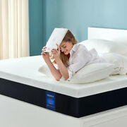 Molblly 12 Inch Gel Memory Foam Bed Mattress With More Pressure Relief And Support