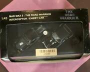 Autoart 1/43 Mad Max 2 The Road Warrior Interceptor And Enemy Car Special Set New