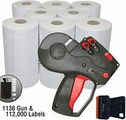 Monarch 1136 Price Gun Labels Value Pack Includes Monarch 1136 Pricing Gun