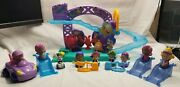Bubble Guppies Rock And Roll Stage Playset Figures + Accessories Lot