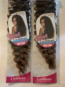 Mane Concept Afri-naptural Caribbean Synthetic Crochet Pre-stretched Braid Hair