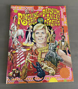 Ringling Brothers And Barnum And Bailey Circus Program 1978 With Unused Poster