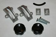 14 Bandsaw Trunnion Clamp Shoes Knobs Set For Grizzly Delta Rockwell Jet Rigid