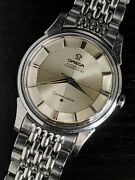 34.5mm 1962 Omega Constellation Pie Pan 14766 +andomegabor Serviced 551 Vintage Watch