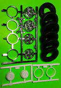 Amt Ford C-900 Coe 1/25 Chrome Spyder Rims Wheel Tires Delivery Semi Truck Rig