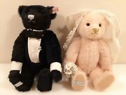 Lladro 40090 Steiff The Happy Couple Bears Limited 2000 Box And Certificate