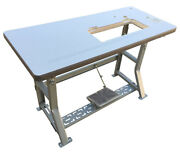 Stand,table,k Legs For All Brands Of Industrial Single Needle Sewing Machines